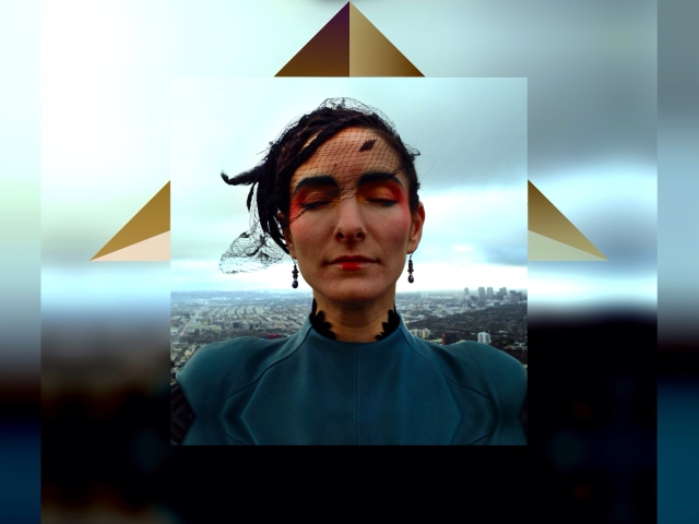 Pyramid Portrait of Pamela Clare Wylie Samuelson by Adam Yasmin